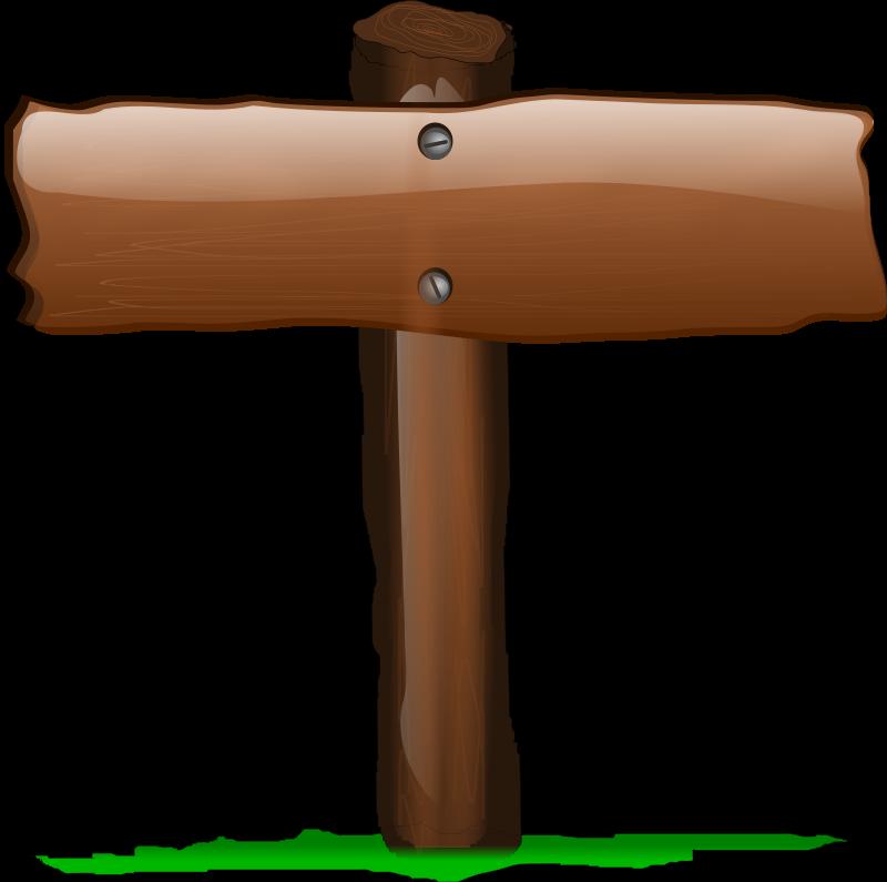 Free Wood Sign