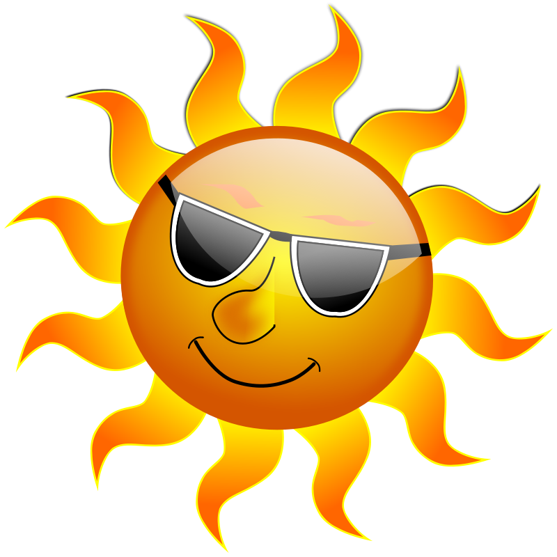 Free Clipart: Summer Smile Sun | inky2010