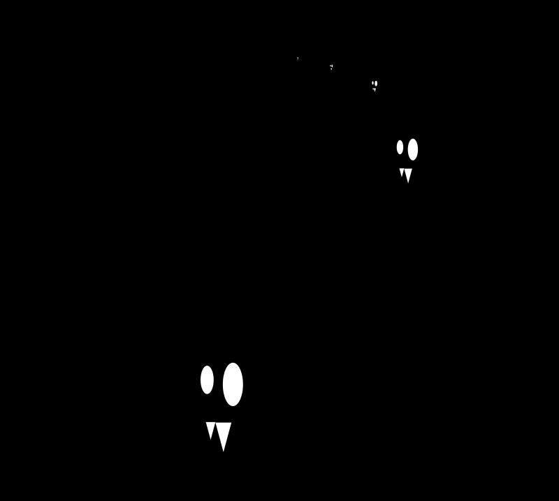 free clipart halloween bats silhouette dcook
