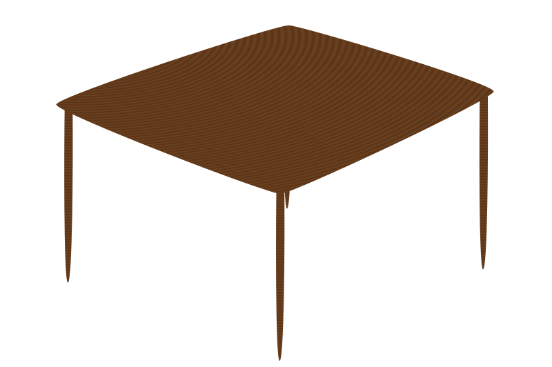 Free small square table 01