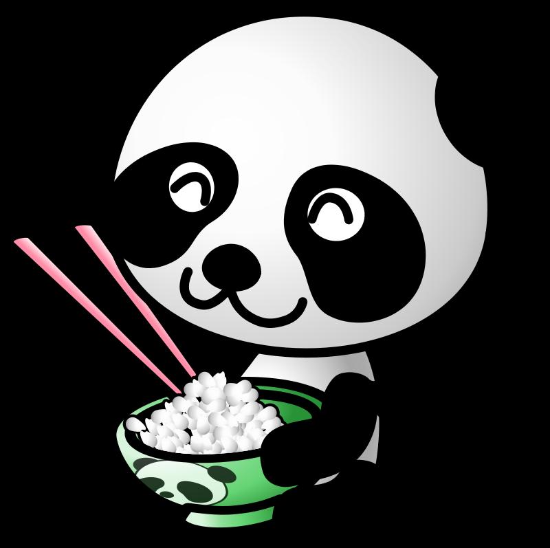 Free rice panda