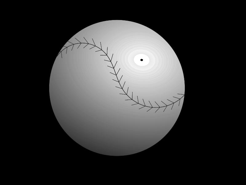 Free Clipart: Baseball Ball | Tjoepoe