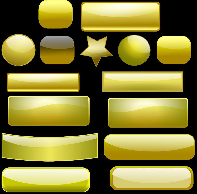 Free Golden Buttons