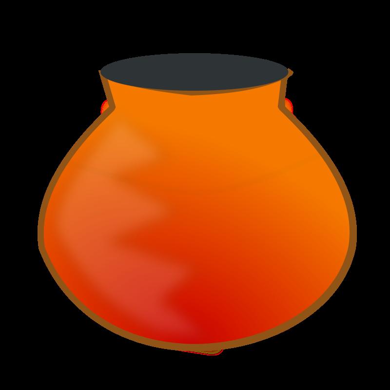 Free earthen pot
