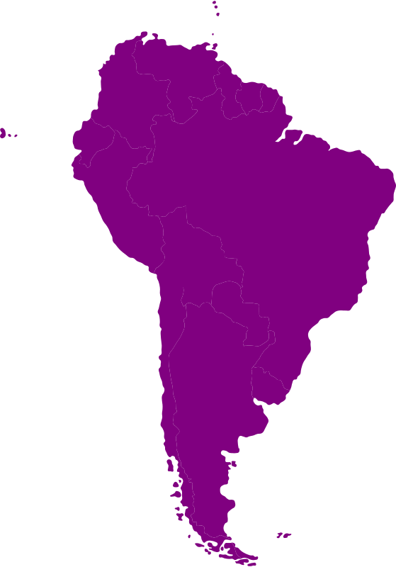 Free South-American continent