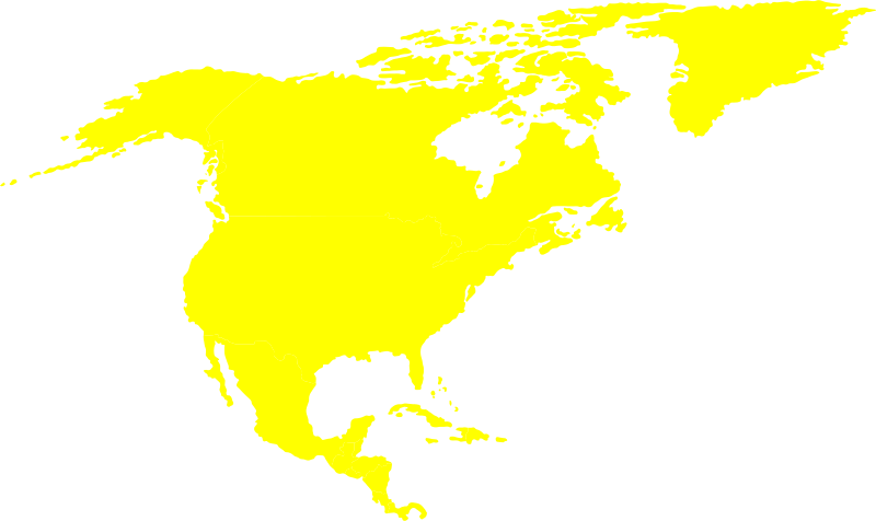 Free North-American continent