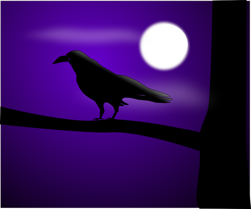 Free raven illustration