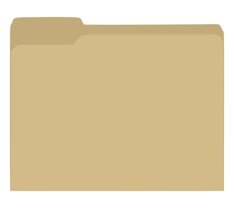 Free Manilla folder