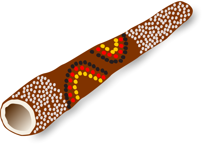Free Didgeridoo, Australian traditional music instrument