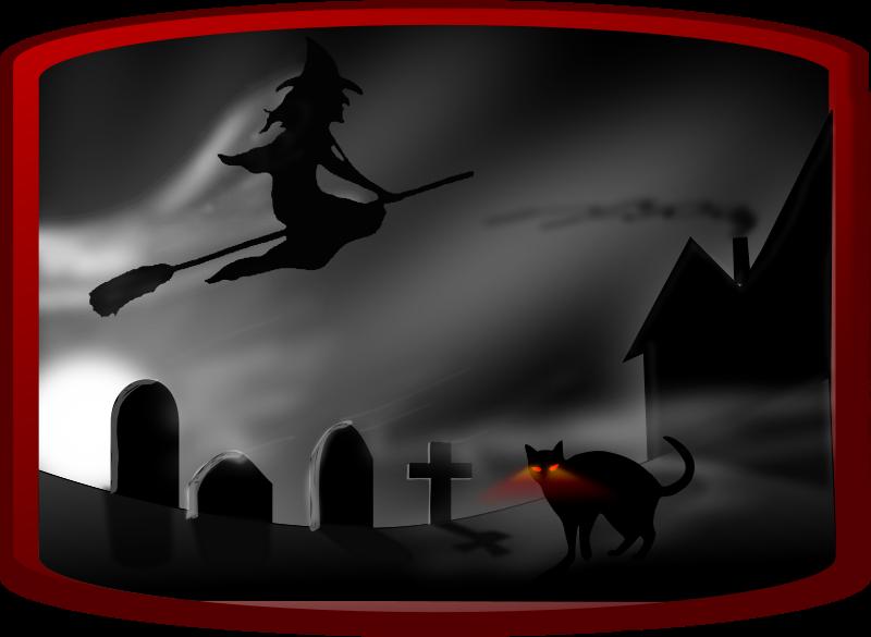 Free Dark spooky landscape II