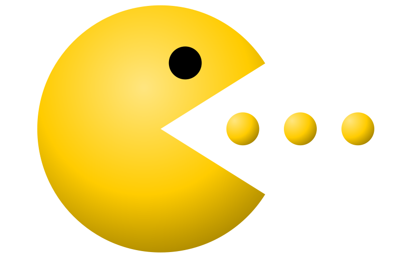 Image result for pacman clipart