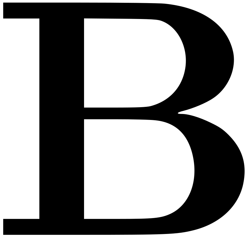 Free Cyrillic letter B