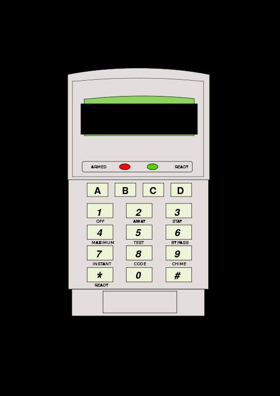 Free Alarm Keypad