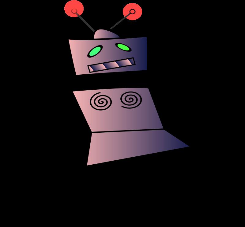 Free dancing robot