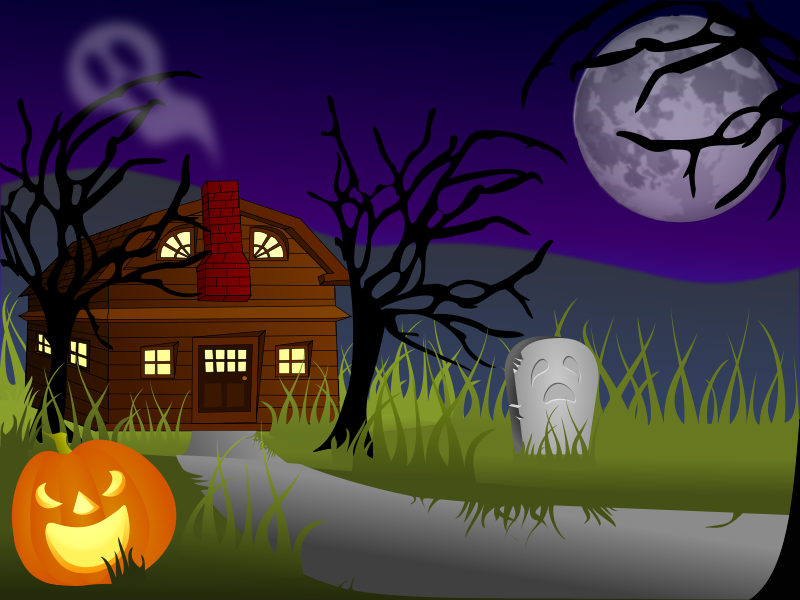 Free Halloween Haunted House