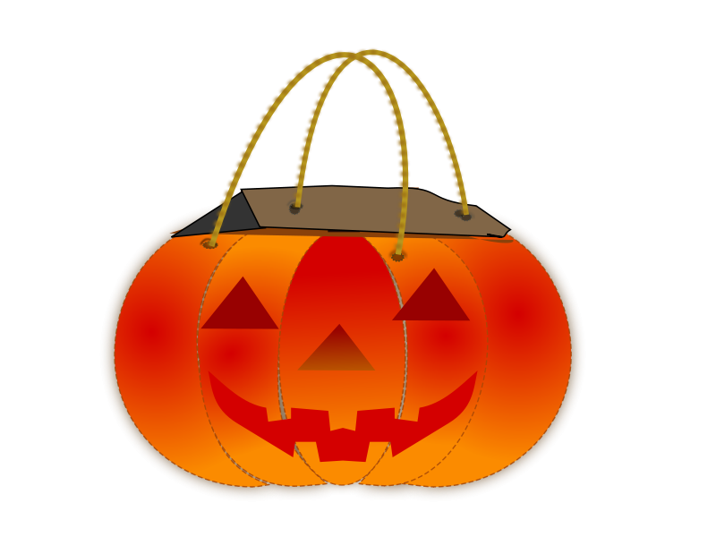 Free Clipart: Trick Or Treat Bag 2 | netalloy