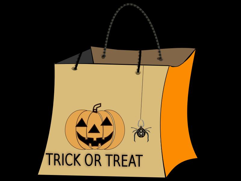 Free TRICK OR TREAT BAG