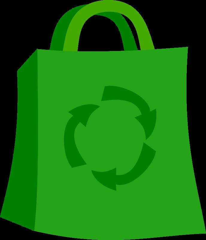 Free Green Shopping Bag
