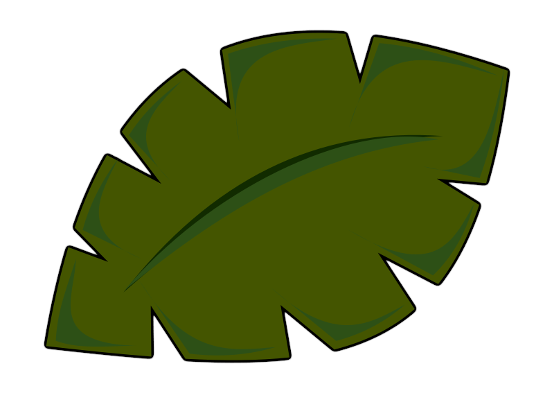 Free Jungle Leaf