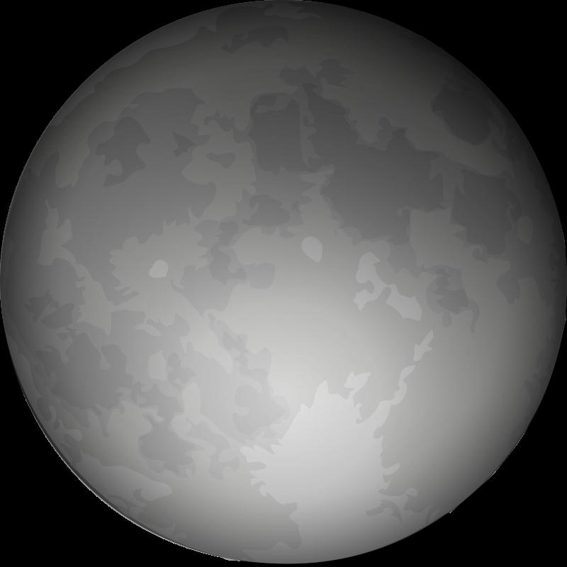 Free Clipart: Halloween Full Moon | cgbug