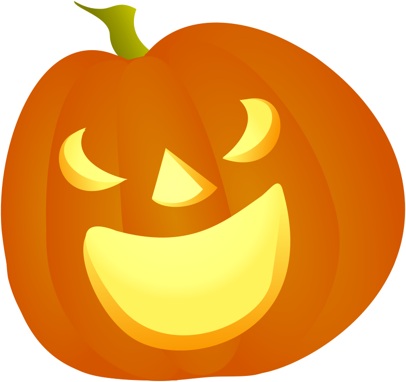 Free Halloween Pumpkin Smile