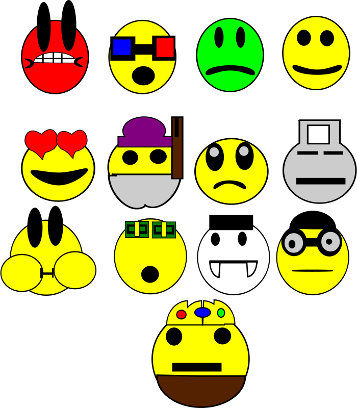 Free faces