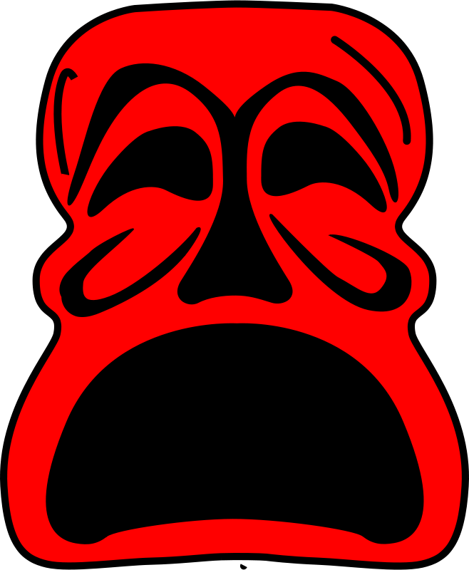 Free Red Mask