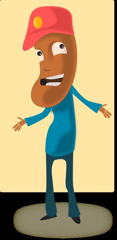 Free Cartoon Toffee Guy