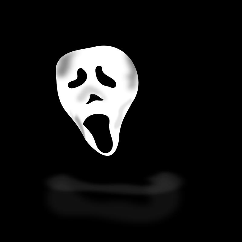 Free Clipart: Ghost under hood | Holidays | netalloy