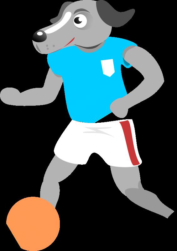 Free Soccer Dog