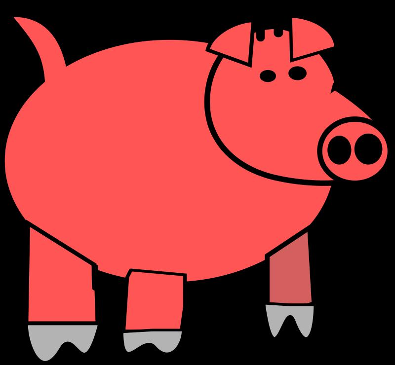 Free cartoon pig