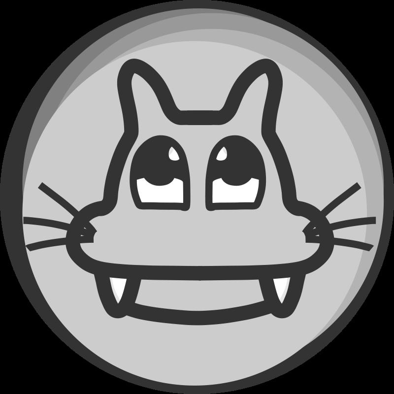 Free Clipart: Cat'Badge | Kib