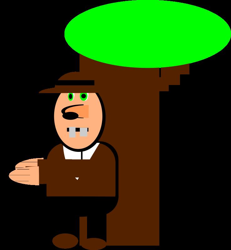 Free Clipart: Cartoon cowboy | PeterBrough