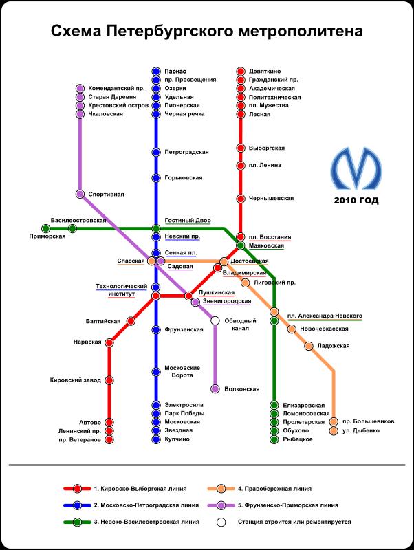 Free Clipart Saint Petersburg Underground Railway Map Rones