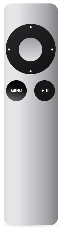 Free Apple Remote Aluminum