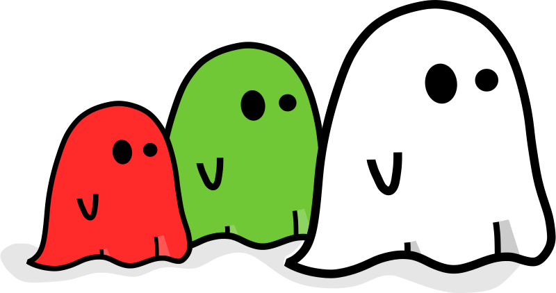 Free Three colored ghost
