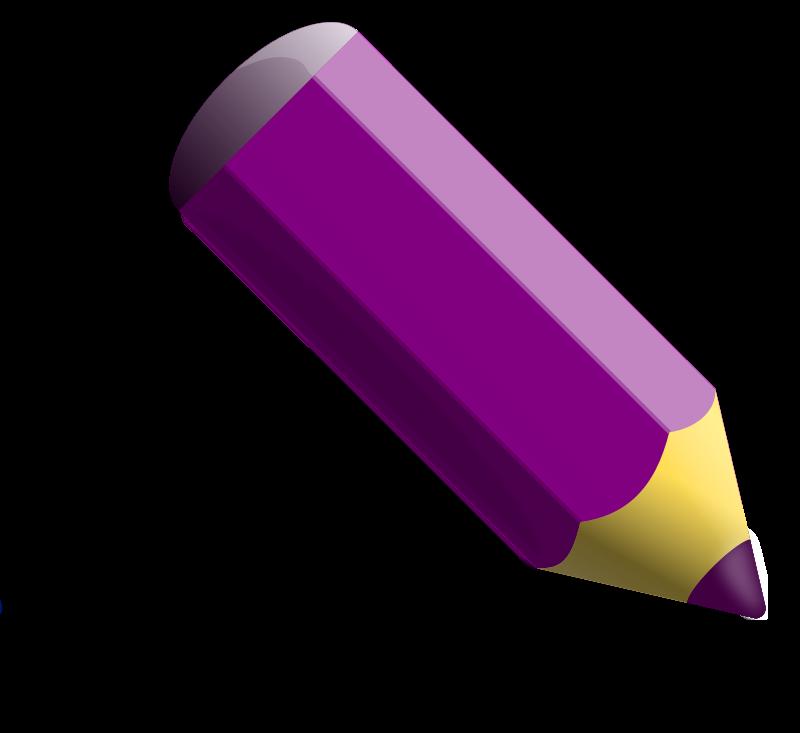 Free Violet pencil