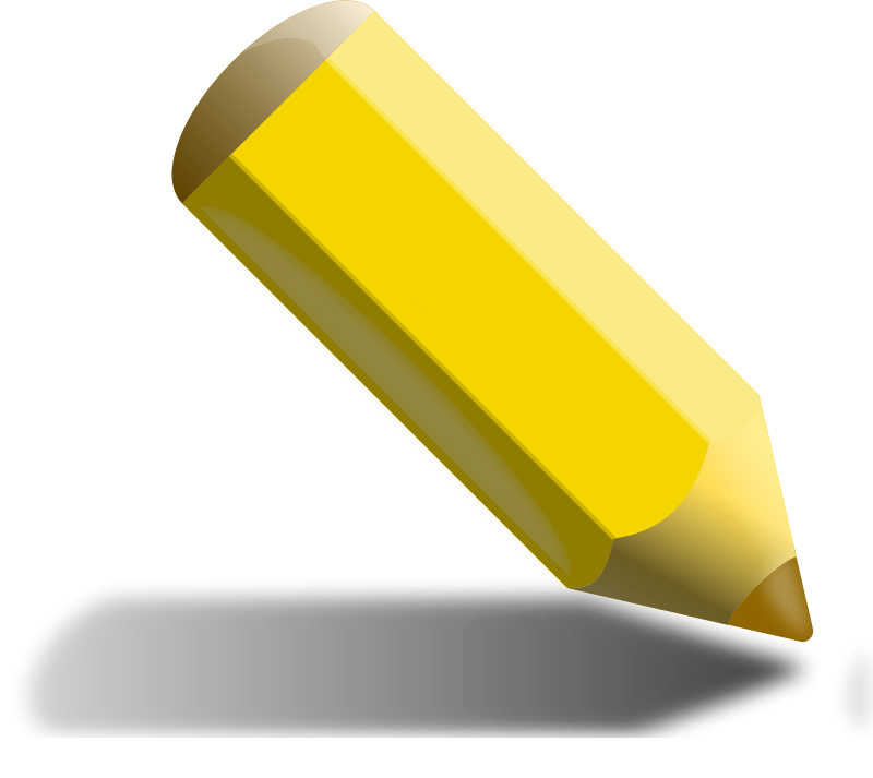 Free Yellow Pencil