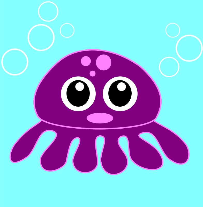 Free funny octopus
