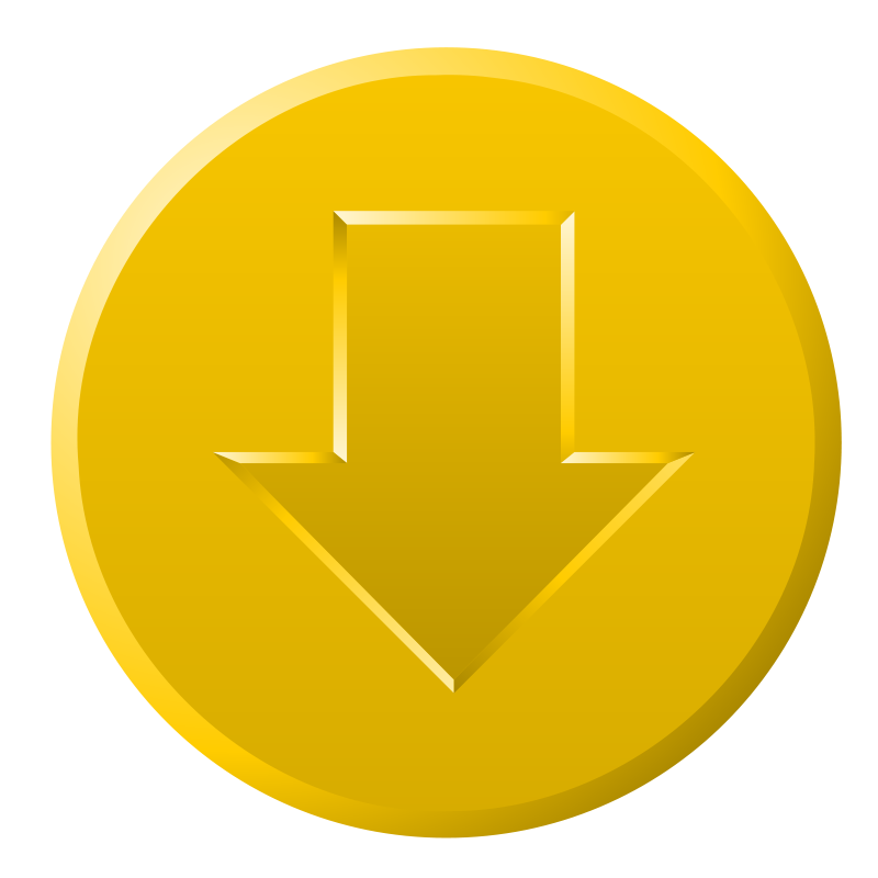 Free Golden Download Button