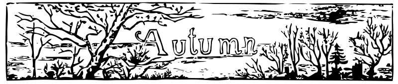 Free Clipart: Autumn header | johnny_automatic