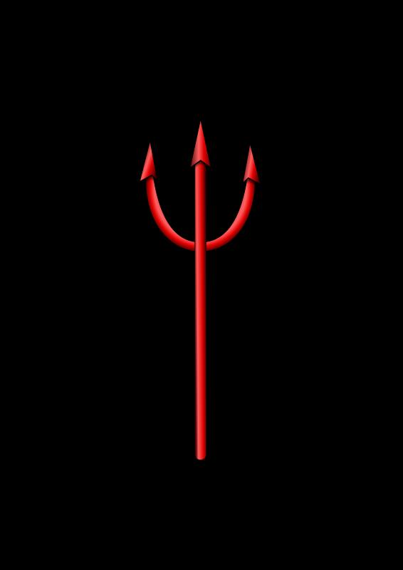 Free devil pitchfork