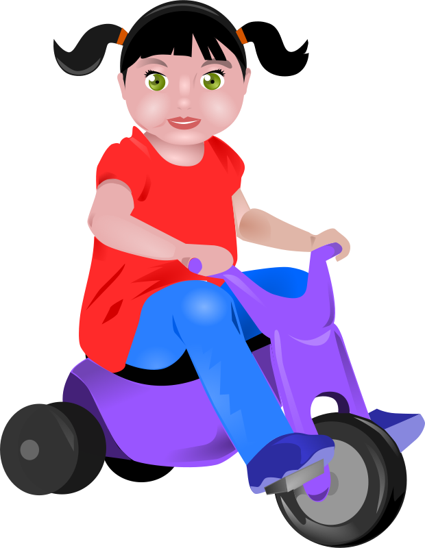 Free toddler on Tricycle