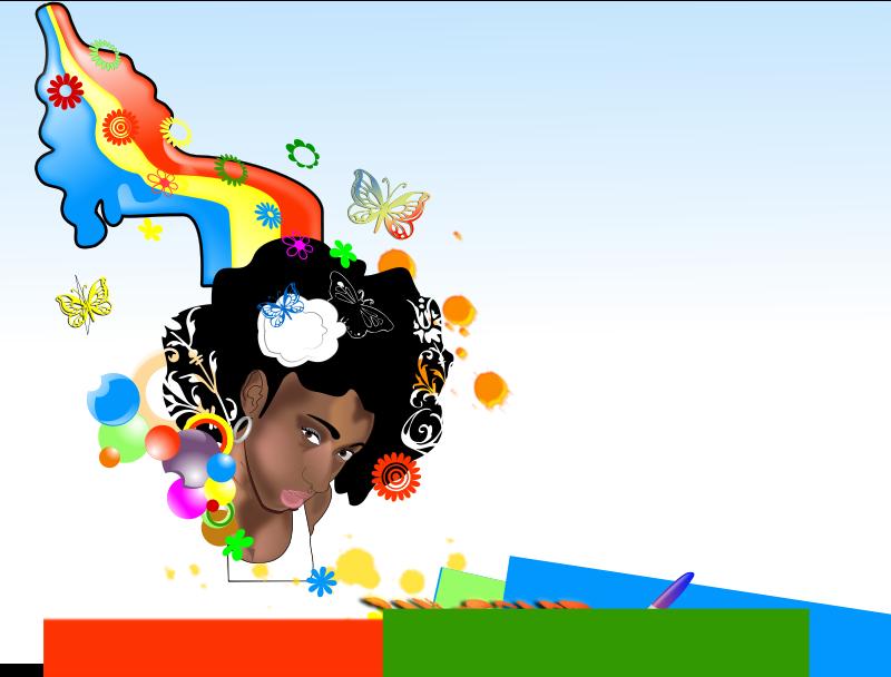 Free Black-Woman-rainbow