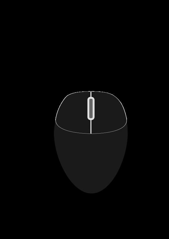 Free Black mouse