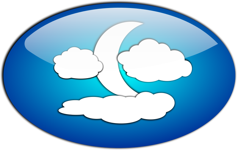 Free Clouds and the Moon