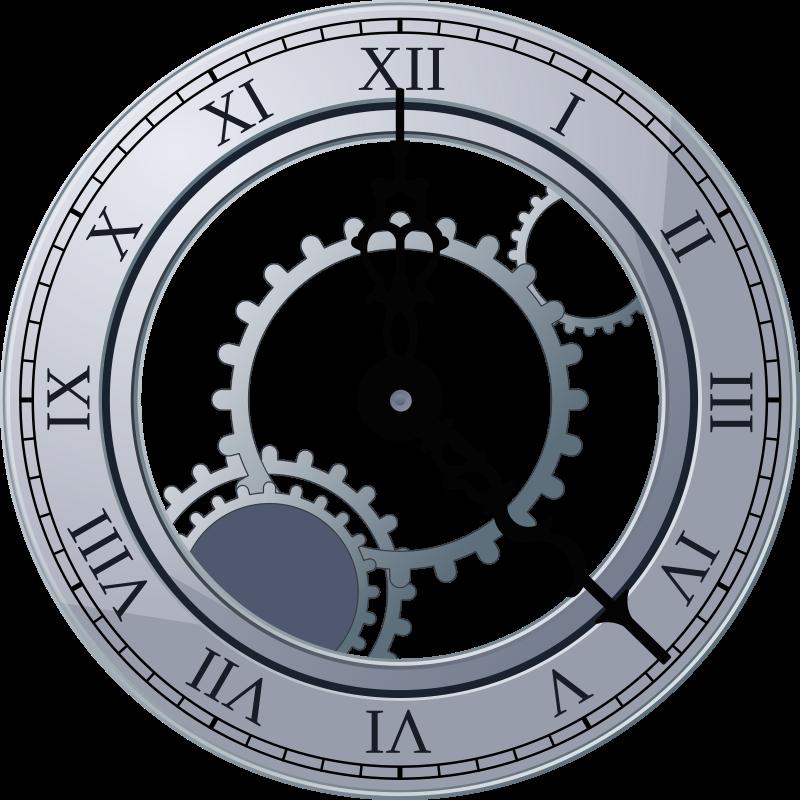 Free Roman Clock