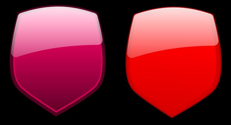 Free Glossy shields 10