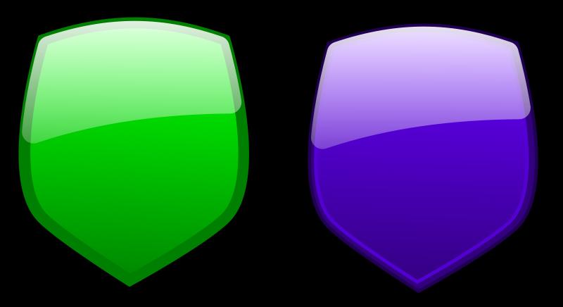 Free Glossy shields 9