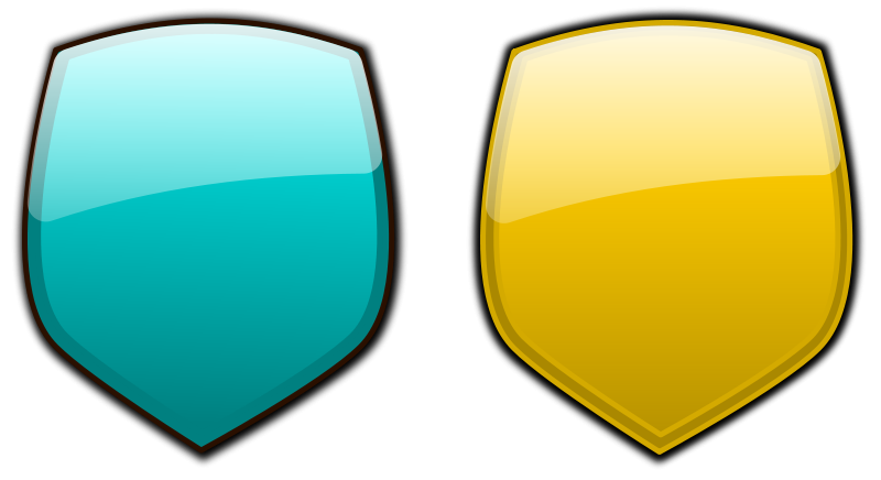 Free Glossy shields 8